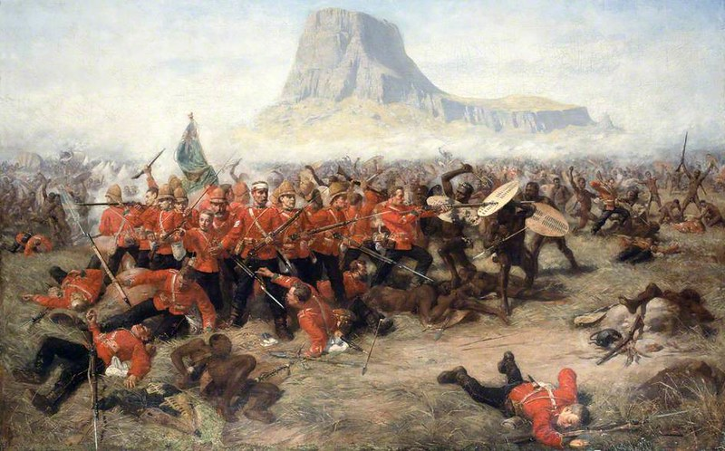 Battle of Isandhlwana (1879) Natal, South Africa, by Charles Edwin Fripp