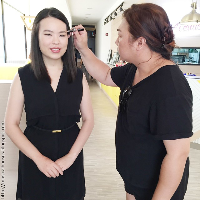 Hada Labo BTS Videoshoot Makeup Artist Danny