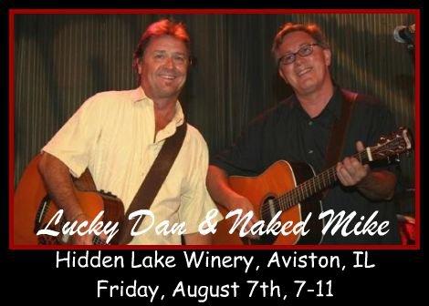Lucky Dan & Naked Mike 8-7-15