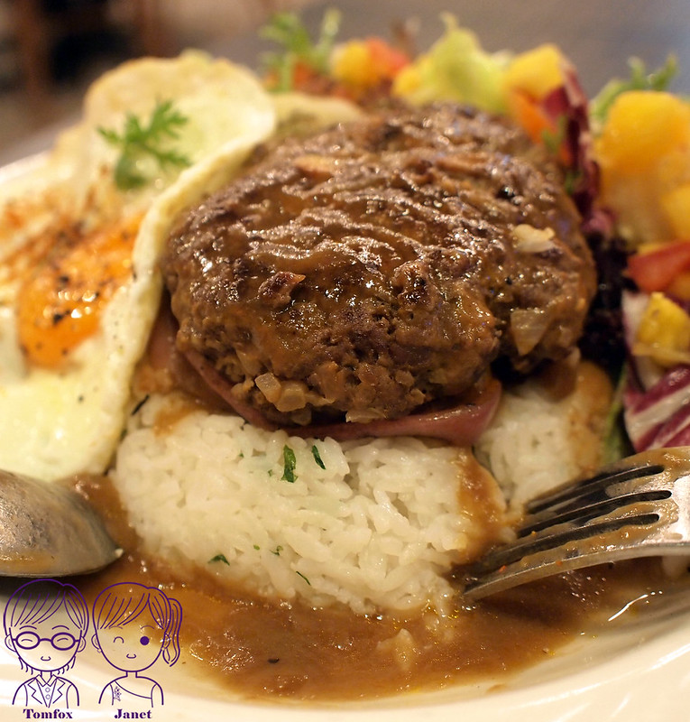 36 樂子美式餐廳(南港店) 夏威夷漢堡排飯
