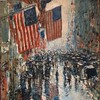 """Detail of """"Rainy Day, Fifth Avenue"""" (1916) by IseFire"""