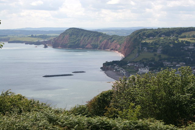 Approaching Sidmouth
