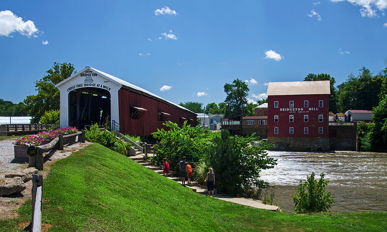 Bridgeton Mill and Covered Bridge