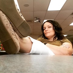 Day 5 of classroom and file prep.  Getting the job done. #green #greenaugust #dailyphoto #365project #ayearofcolors #20150812  #me #mylife #myclassroom #ilovemyjob #relaxing #feetupforasec #selfportrait #selfie