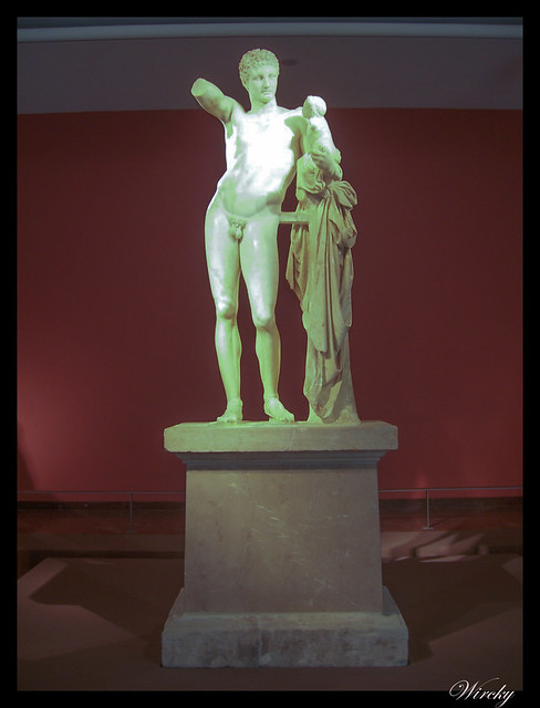 Grecia Olimpia Delfos - Hermes de Praxiteles