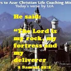 Today's #verse 2 #Samuel 22:2 #Lord #rock #fortress #deliverer #OldTestament #Bible #Study #Gratitude #LtA