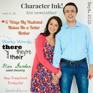 Character Ink! Newsletter no. 26