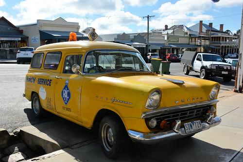 1960/61 FB Holden Panel Van, Beechworth, Victoria