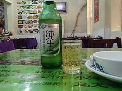 中国 餃子 和 肝鍋 和 白酒 - naniyuutorimannen - 您说什么!