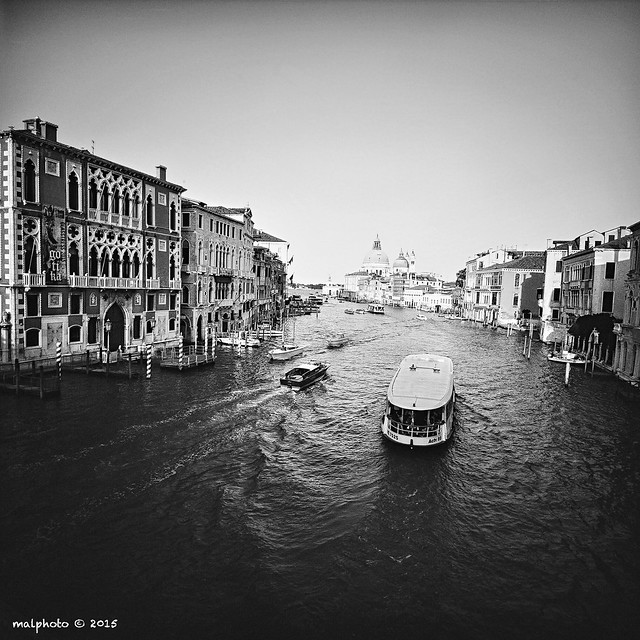 CANAL GRANDE SEEN FROM PONTE DELL'ACCADEMIA, VENICE