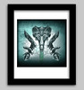 Aliens Film Art Series, Xenomoph Evolution Art Prints by Sherrie Thai by shaire productions