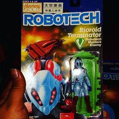 #robotech #matchbox #harmonygold Bioroid Terminator #actionfigures #ToyGameTedDibase #toyhorder #toysagram #toyhunting #toyhustle #TomKhayos #ToyGameScroogeMcDuck #toyfinds #RagingNerdgasm