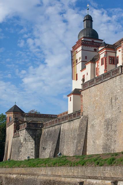 Marienberg Fortress. Würzburg, Franconia region of Bavaria, Germany