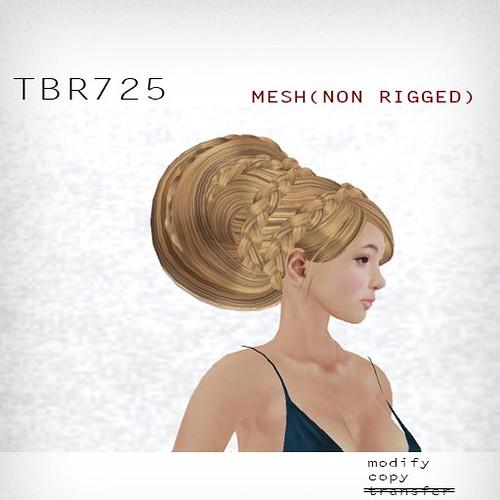 booN TBR725 hair