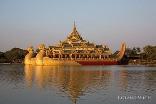 Yangon - Karaweik Palace