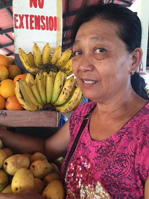 Bantayan market vendor Jovencia S. Pastor