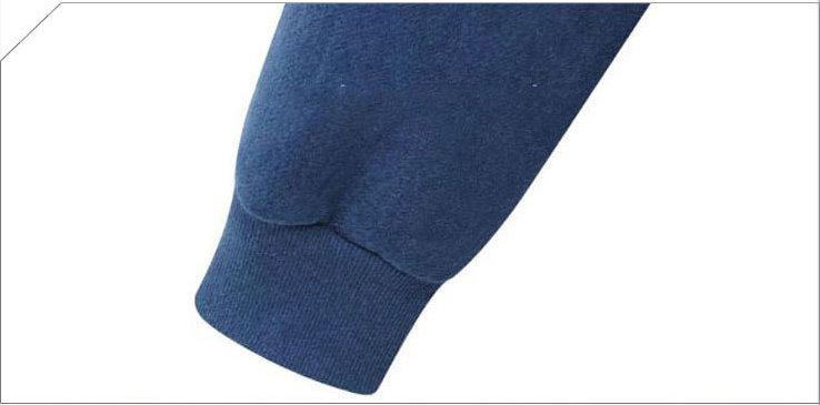 GOGO SHOP☆╭實品拍攝寬鬆休閒運動長袖拉鍊棉T磨毛加絨長版連帽外套【X9949】S~XL大尺碼另有風衣