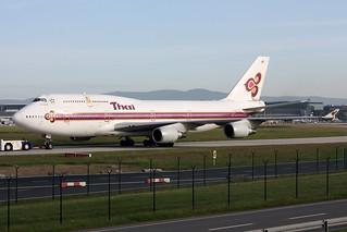 """Thai Airways International Boeing 747-4D7 HS-TGN  """"Simongkhon"""""""