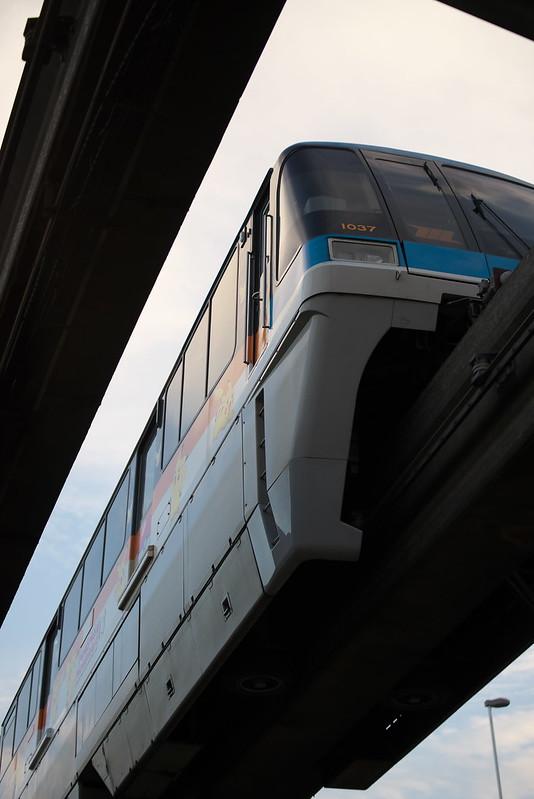 Tokyo Train Story 東京モノレール 2015年10月9日