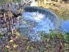 Semicircular dam