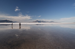 Bonneville Salt Flats, Utah, USA