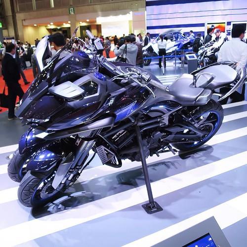もいっちょ、三輪。じゃ、これ出たら買おうか。 #YAMAHA #ヤマハ発動機 #東京モーターショー #tms2015