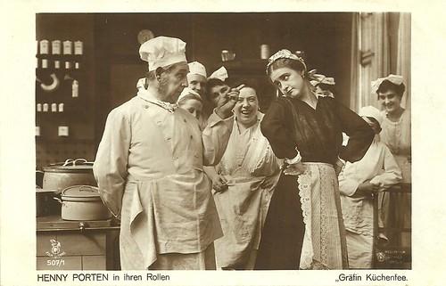 Henny Porten in Grafin Küchenfee (1918)