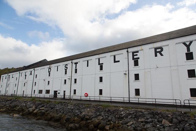 Caol Ila Distillery #夢見た英国文化