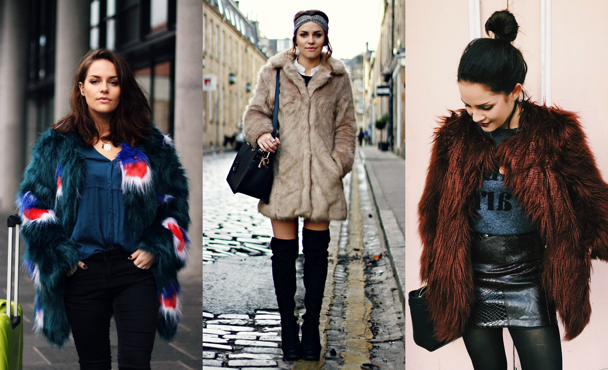 Fur coats the little magpie