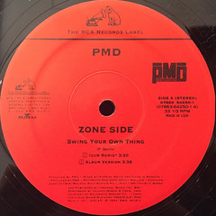 PMD:SWING YOUR OWN THING(LABEL SIDE-A)