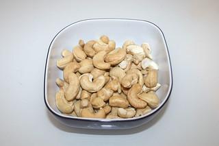 12 - Zutat Cashewkerne / Ingredient cashew