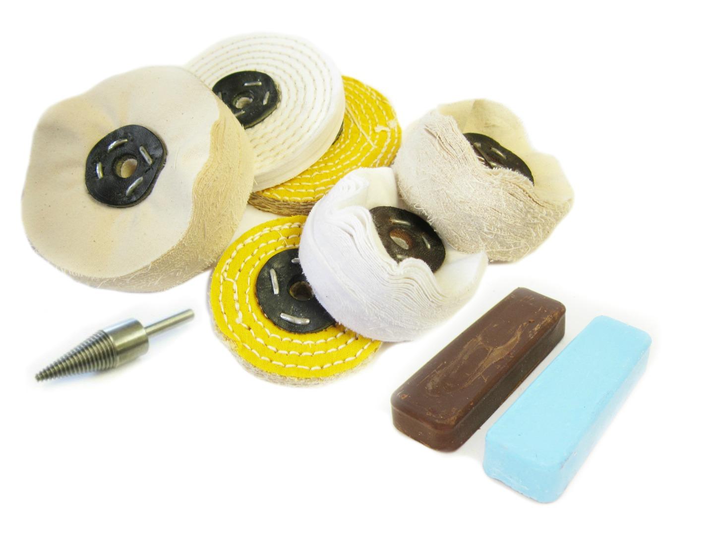 laiton aluminium m tal restauration kit de polissage t. Black Bedroom Furniture Sets. Home Design Ideas