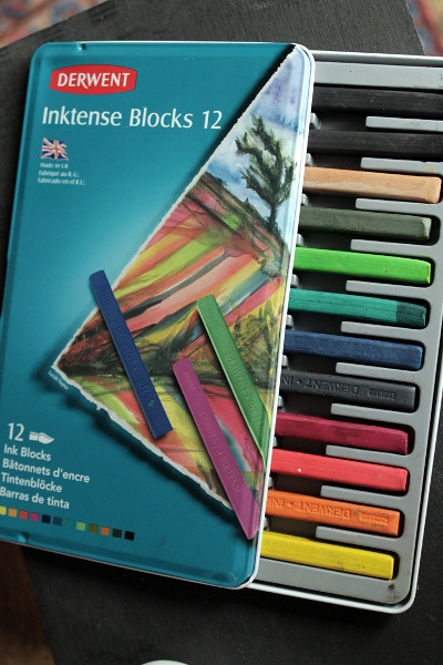 Derwent Inktense Blocks by Misericordia