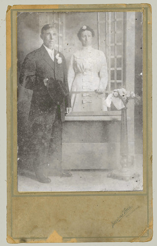 Mounted Portrait of a Couple