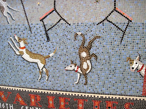 Hoxton Varieties Mosaic at Old St and Pitfield St