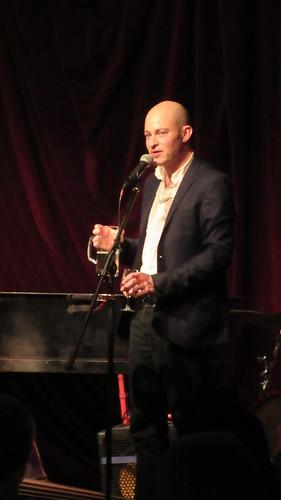 Geoff Berner, der Whiskey Rabbi, am 23.11.2015 in der Villa Neukölln