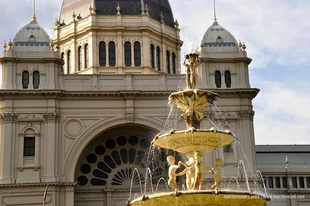 Royal Exhibition Building at Carlton Gardens Melbourne