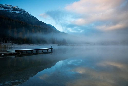 morning autumn mountain lake alps reflection fall fog sunrise landscape schweiz switzerland swiss explore stmoritz graubünden grisons stazersee stazerwald bq0a3716bearb