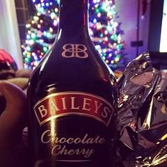 Early #christmas2015 present courtesy of @dunnmann #yum #baileys #cherry #family #goodtimes #love #life #the914 #familyfirst
