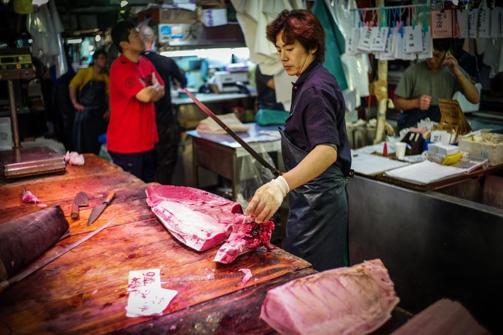 風情文化/探访世界上最具传奇色彩的东京築地魚市 Tsukiji Fish Market10