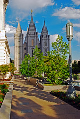 temple square path