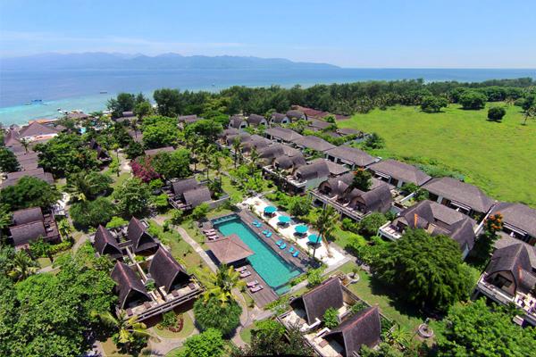 Hotel Vila Ombak - gambar 1