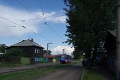 Irkutsk tram 71-605 203