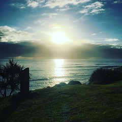 #morning #sunrise #beachlife #surf flat #goldcoast #cycling #cycle #cyclinglife
