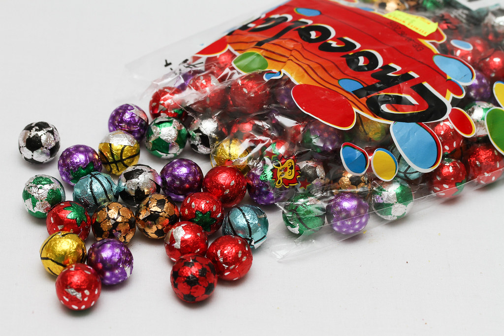 50 Childhood Snacks Singaporeans Love: Chocolate ball