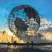 Unisphere at sunset, Flushing Meadows-Corona Park, Queens, New York City by NYC♥NYC