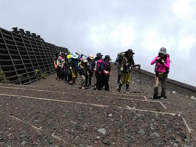 日本人的登山隊