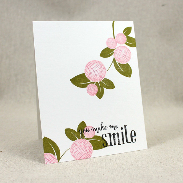 You Make Me Smile Card