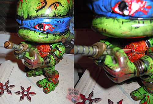 tOkKustom :: LOYAL SUBJECTS 'Katana Lobotomy' LEONARDO xx / ..Seppuku