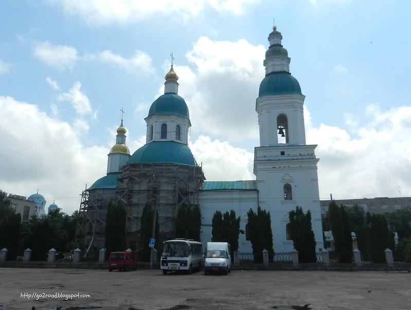 Николаевская церковь Глухов